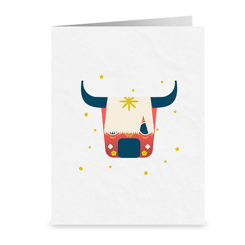 Year of the Ox | Lunar New Year | greeting card