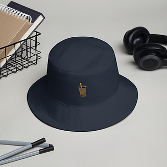 bucket-hat-i-big-accessories-bx003-navy-