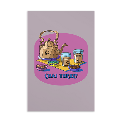 Chai There! | Card