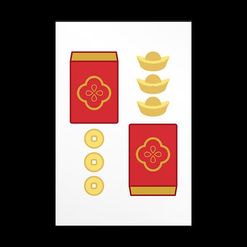 prosperity | Lunar New Year | Card
