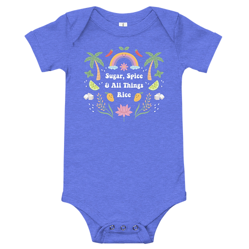 Sugar, Spice, and All Things Rice | Baby Onesie