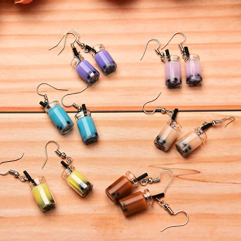 Bubble Tea Earrings *6 Colors*