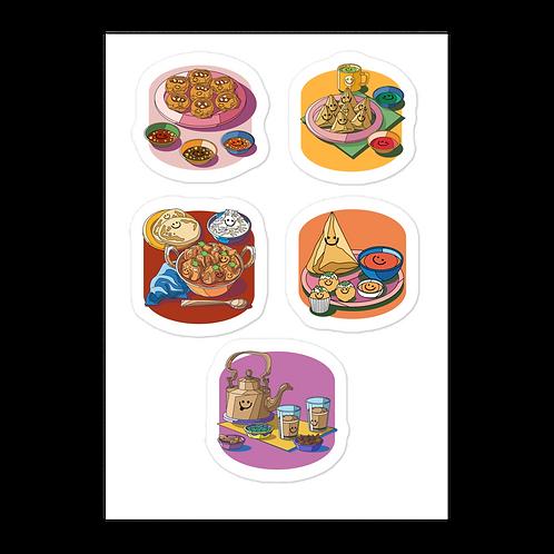 Indian Food *sticker sheet*