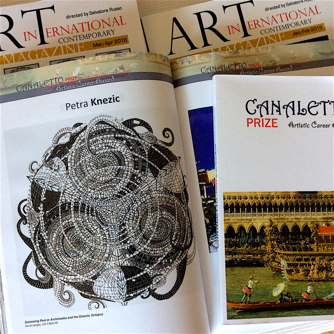 Canaletto Art Prize, Catalogue