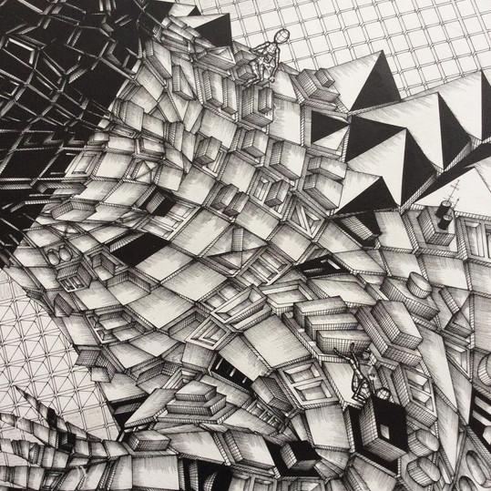 Croco: making of, detail