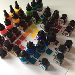 Ink assembly.