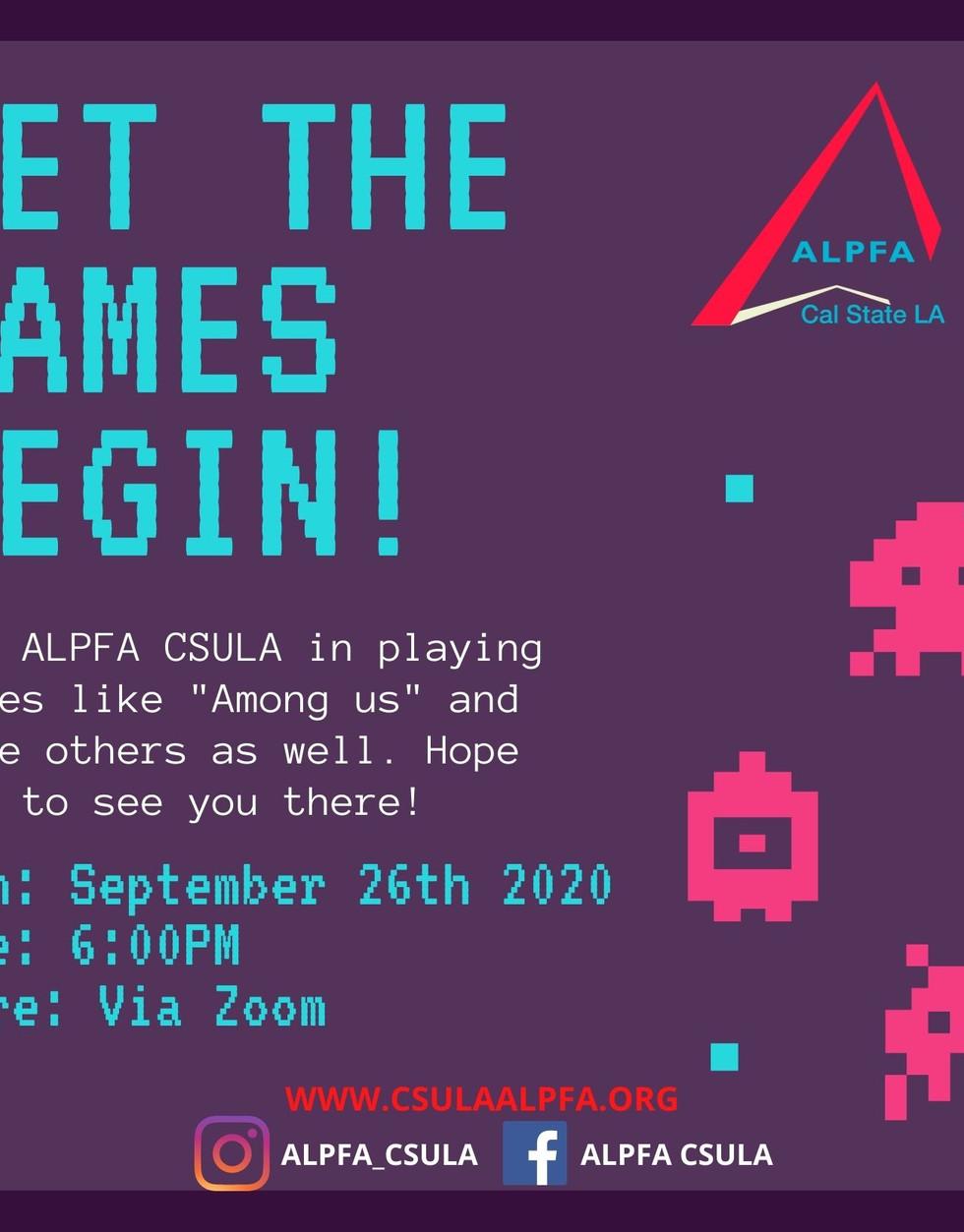 ALPFA GAME NIGHT SOCIAL