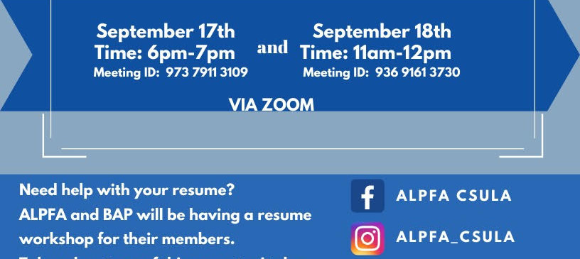 LINKEDIN RESUME WORKSHOP