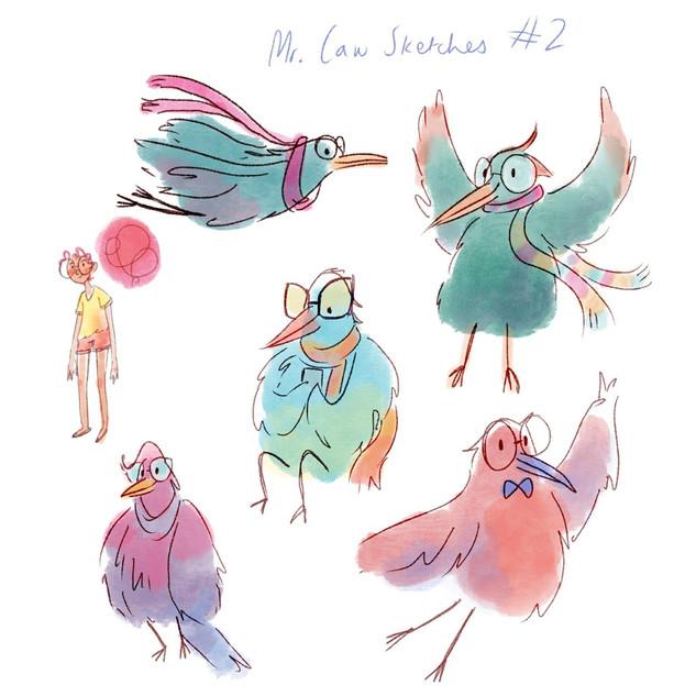 Mr. Caw 2