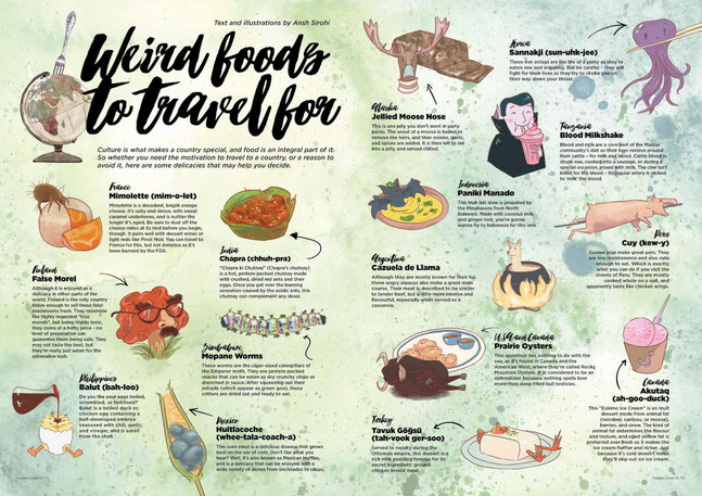Article: Weird Foods to Travel For