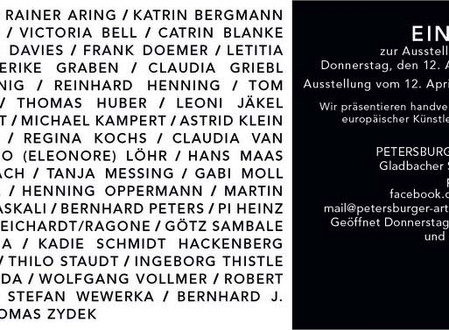 Ausstellung: der PETERSBURGER zeigt...