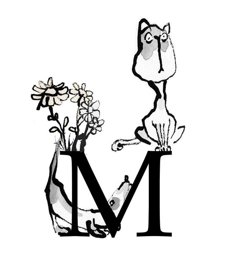 """ein """"M"""""""