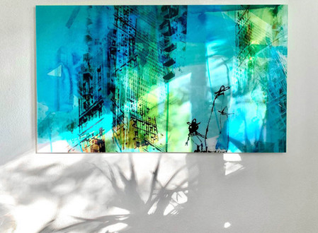 Stadtbild-Schattenbild