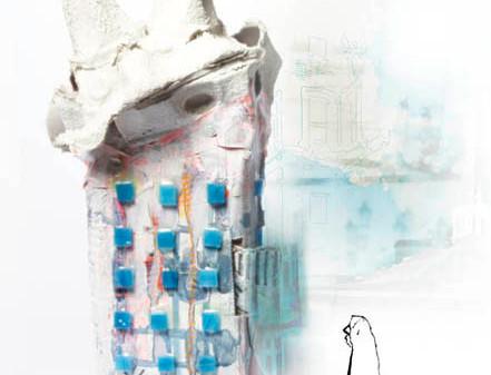 Hausobjekt meets Zeichnung