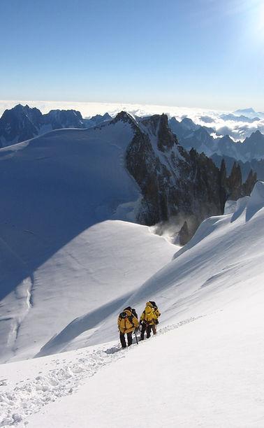 Ascension du Mont-Blanc - François Hinsinger - Massage bien-être