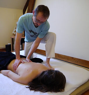 Massage un moment pour se poser