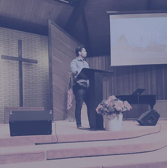Pastor Marttell Preaching at New Life Community Church, Ukiah