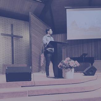 Pastor Marttell Preaching at New Life Community Church, Ukiah