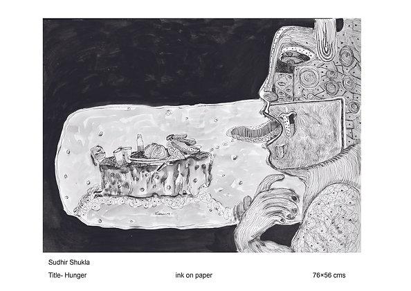 Hunger by Sudhir Shukla