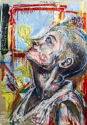 Woman's Portrait by Andrea Sbra Perego