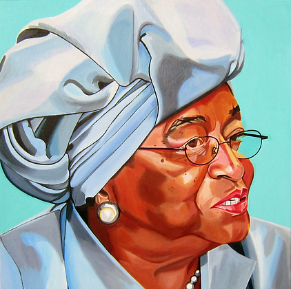 Ellen Johnson Sirleaf by Camino Casabella