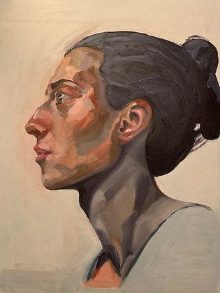 Woman, A Portrait by Merve Kıyak Şahin