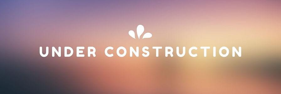 Orange Website Construction Email Header