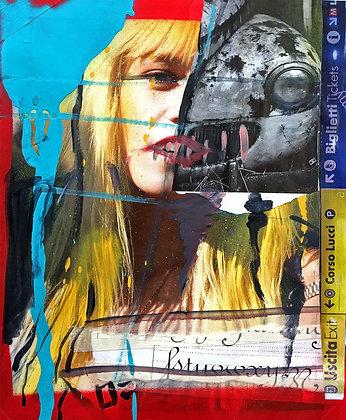Behind Human by Andrea Sbra Perego