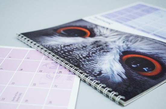 Artists Self Print Calendar