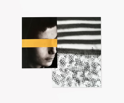 BLACK STRIPES - BLIND MIND by Alessio Guano