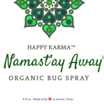 Namast'ay Away™ Organic Bug Spray