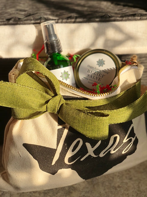 TEXAS Gift Bag (A festive ribbon can be added for the Holidays)