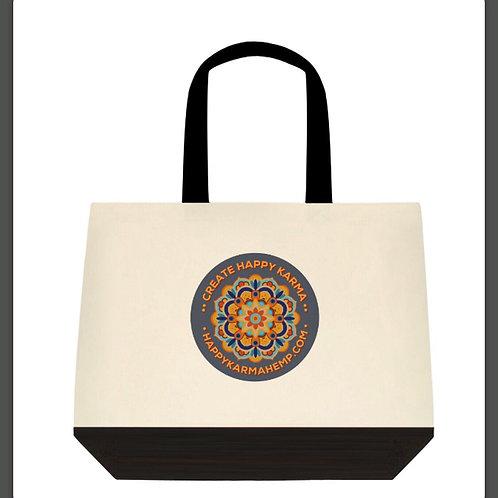 """Create Happy Karma"" Tote Bag"