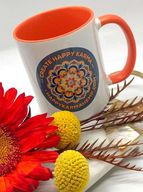 """Create Happy Karma"" Mug"
