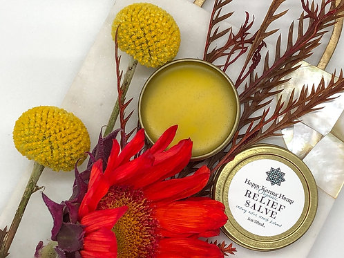 Organic Relief Salve (150mg/1oz) by Happy Karma® Hemp
