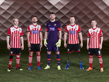 Virgin Media cede patrocínio na camisa do Southampton em apoio a torcedores com deficiência