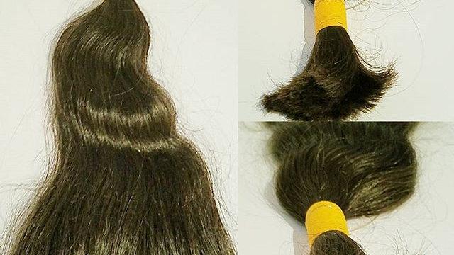 Silver Collection Virgin India Hair - Braiding/Bulk None Wefted