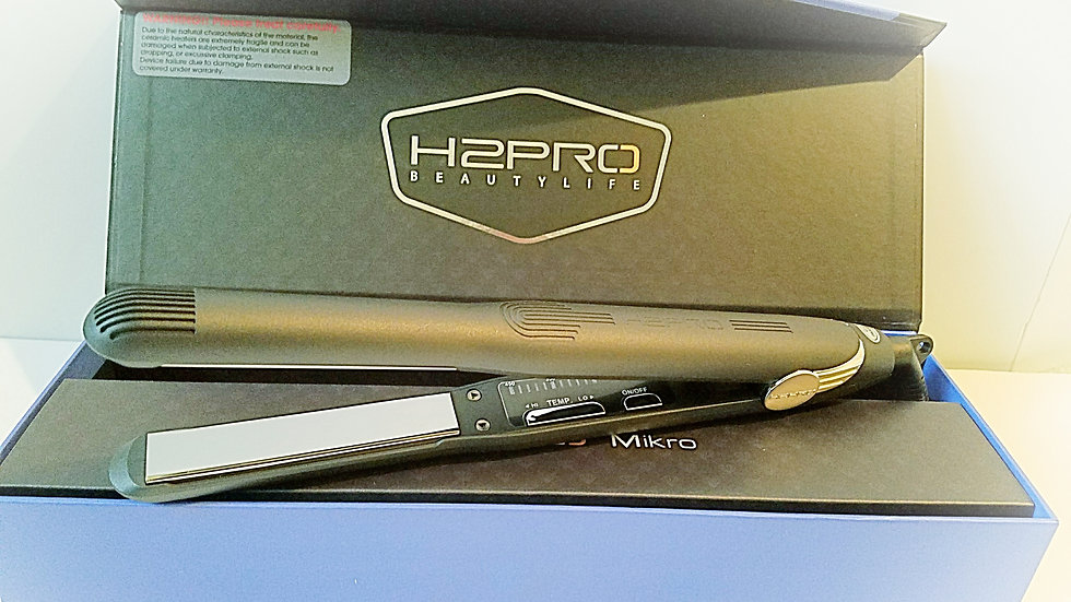 "H2Pro Black Diamond 7/10"" Titanium Flat Iron"