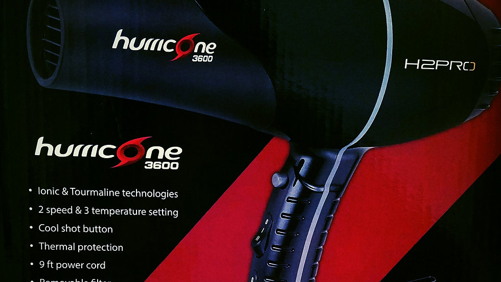 Hurricane 3600 Ionic Generator Blow Dryer