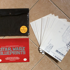 Star Wars Blueprints folder by Ballantine Books