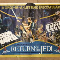 Triple Bill UK Quad Poster