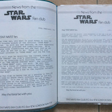 UK Fan Club letters, February and June 1980