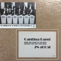 Promotional postcard for Cantina Band theme by the Rainbow Dance Orchestra