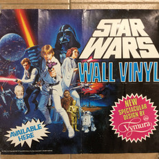 ICI Vymura Star Wars store display poster