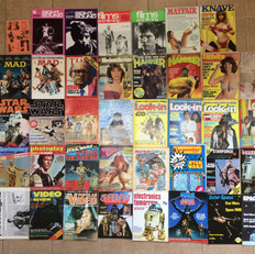 Star Wars magazines collection