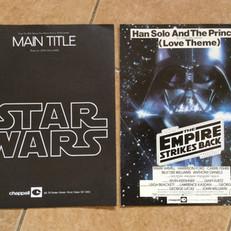 Star Wars Main Title and Empire Love Theme sheet music