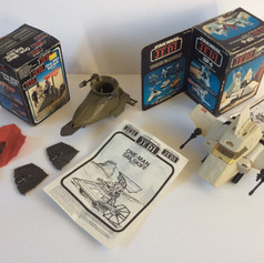 Trilogo One Man Sail Skiff and Kenner ISP-6 mini-rigs