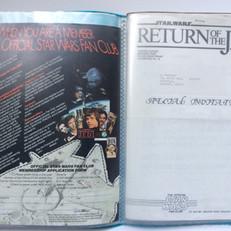 Application form 1983 and Triple Bill invitation Summer 1983