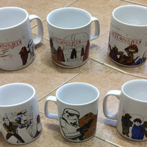 Kiln Craft Return of the Jedi mugs