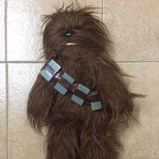 Denys Fisher plush Chewbacca